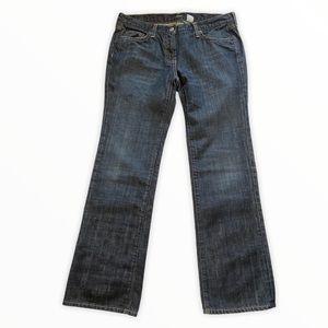 J. Crew Mid-Rise Boot Cut Medium Wash Denim Jeans